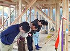 島田市 新築 作業前